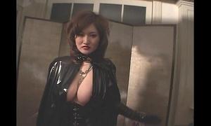 Marina Matsumisha in latex