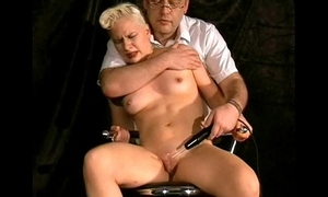 Violet wand electro torments at hand Tears