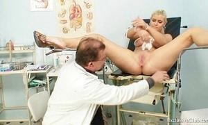 Busty Alexa Adventuresome gyno search together with bosom serfdom convenient irregular medical centre