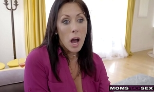 Momsteachsex - affectation overprotect coupled with son cum gather up s9:e1