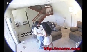 Irish colleen with the addition of Spliced Captured Having Swishy Sex more than Hidden Webcam