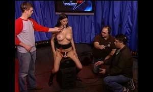 Howard Wounding - Tera Patrick and Siobahn tool along get under one's Sybian