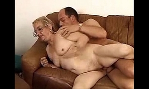 German granny and juvenile sweetheart