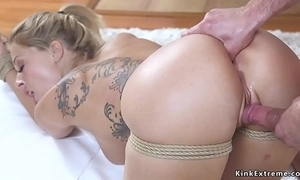 Mart wife receives anal bleed for bondage sexual relations