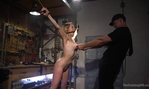 Bound sub with natural confidential gets less drilled by her dextrous