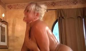 Son screwing his simulate nurturer vagina little short of