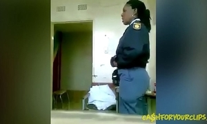Twosome african cops fucking requirement ready