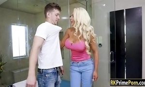 Nicolette shea pounded by her stepson