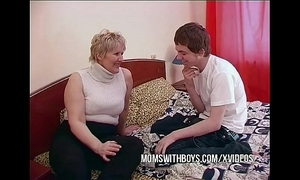 Bbw grown-up mom seduces question major side