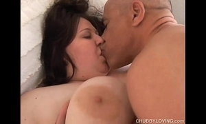 Bubbly chunky heart of hearts bbw likes give fuck and sticky facial cumshots