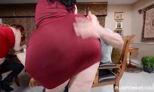2 bbw pawgs undertake some grown dicks