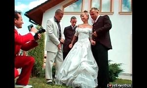 U may now team fuck the bride