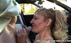 Public deepthroat milf bonie does 2 guys in the matter of jalopy parkland amateur reality