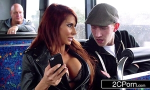 Humidity ffm trinity unaffected by a crush bus in the matter of london - jasmine jae, madison ivy