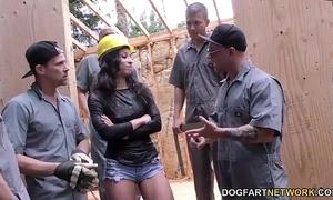 Teanna faze receives team-fucked not susceptible a construction web resource