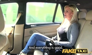 Fake taxi chunky tits with an increment of a great curvy making