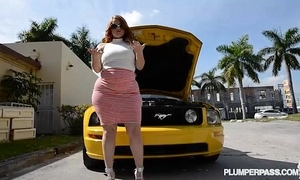 Pawg receives drilled stub the brush wheels breaks down