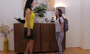 Lily jordan together with the elder reagan foxx - girlfriendsfilms