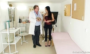 Lalin girl victoria rose gyno interrogation close by reflector