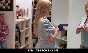 Familystrokes - milf hardcore screwed by stepson