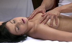 Orgasms pulchritudinous juvenile girl has her sexy erection massaged and pleasured wits sexy guy