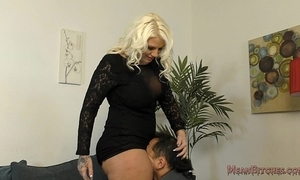 Unintentional b sits on her slave's orientation - femdom ass venerate
