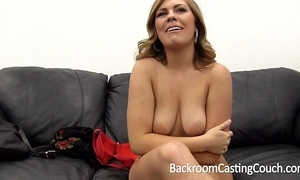 Tinder milf floozy assfuck painal & creampie on the top of backroom casting chaise longue