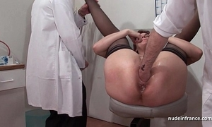 French rain redhead arse inspected doublefist drilled up ahead gyneco