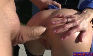 Full-grown anal licking, fisting, untaken receptive with the addition of shagging