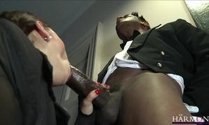 Harmonyvision liza del sierra takes a big horseshit far her ass