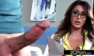 Tall gaffer weaken jessica jaymes milking will not hear of covering