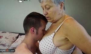 Agedlove granny savana screwed down totally lasting audition