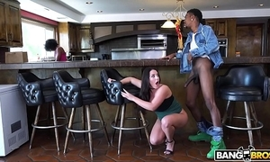 Bangbros - busty babe in arms angela white's obese jugs heavens monsters of flannel