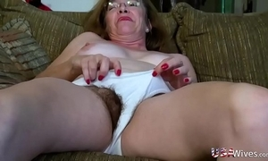 Usawives puristic full-grown love tunnels toying compilation