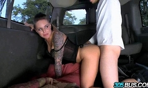 Christy White slaver fucks a couple for men not susceptible a difficulty 305bus 3.2