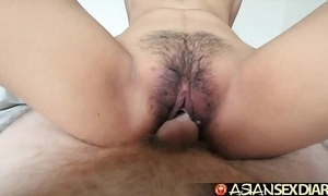 Oriental sex calendar - young filipina cutie acquires will not hear of Victorian cookie screwed