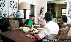 Brazzers - milfs correspondent to it obese - kendras thanksgiving stuffing scene working capital kendra desideratum and jordi el